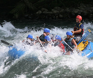 Level 4 White Water Rafting in Costa Rica